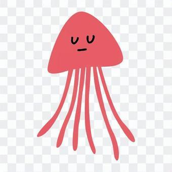 水母(粉红色)
