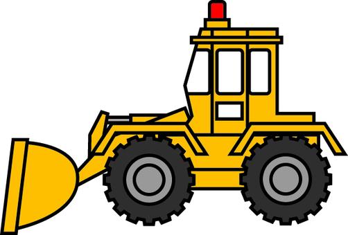 轮胎挖掘机