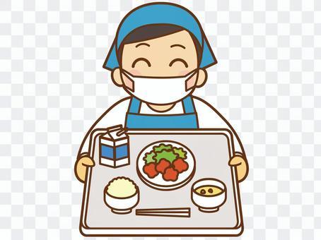 請吃午飯(圍裙)