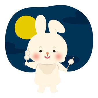 Rabbit (moon viewing 2)