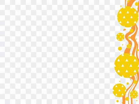日本圖案frame_streamline and scale pattern_R