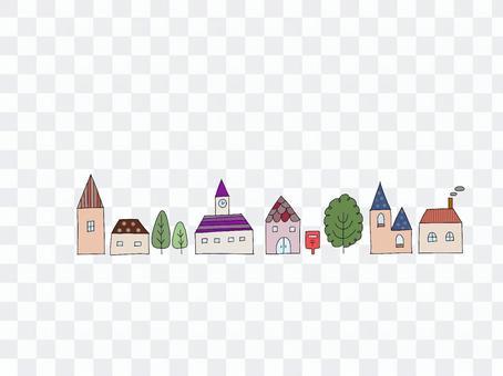Fashionable cute houses