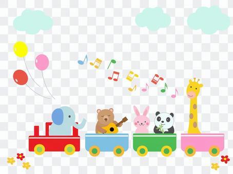 機車上的動物