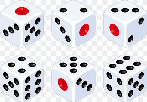 Dice set for dice