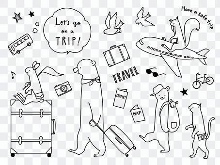 Animal travel
