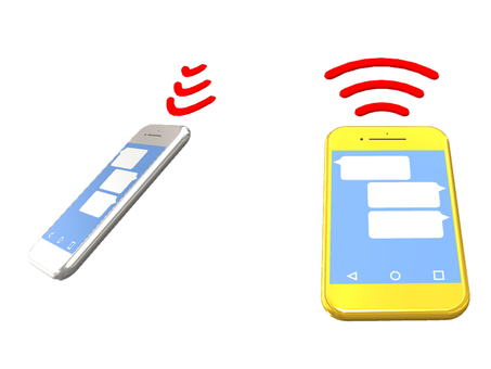 During smartphone communication