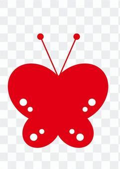 蝴蝶(紅)
