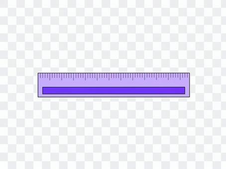 Purple ruler
