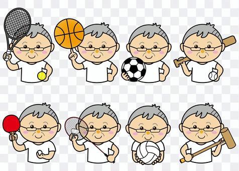 男性42_11(スポーツ・セット)