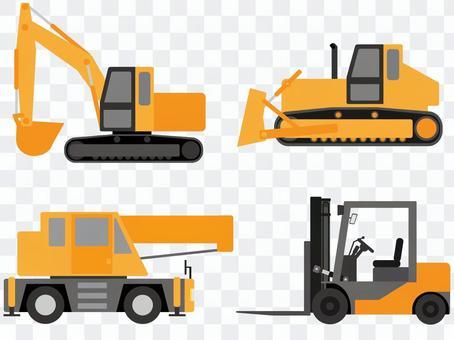 工作車(重型/建築機械)物料組1