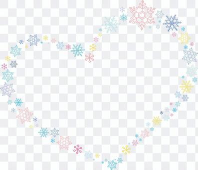 Snow Crystal Heart