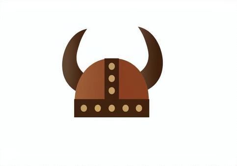 バイキングの兜