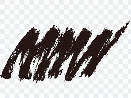 陰影(刷子)黑色