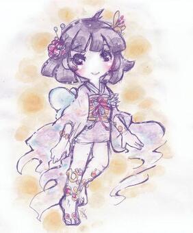 Small Princess Purple Screen