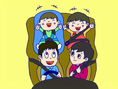 儿童座椅安全带