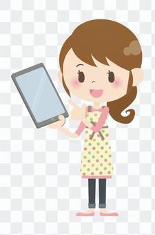 家庭主婦A *平板電腦01