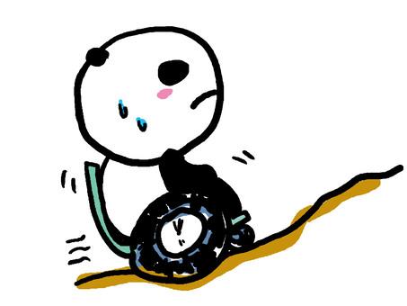Let's do my best Wheelchair Panda 2