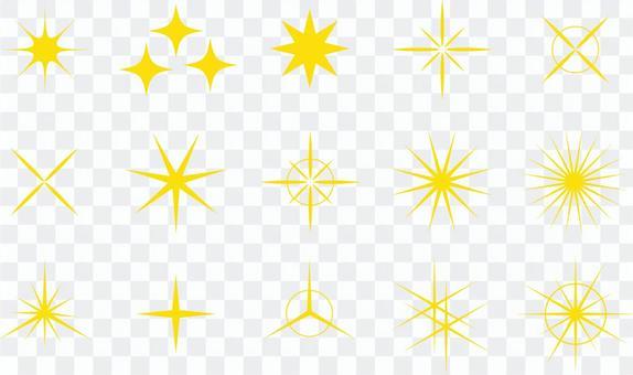 圖免費閃光明星