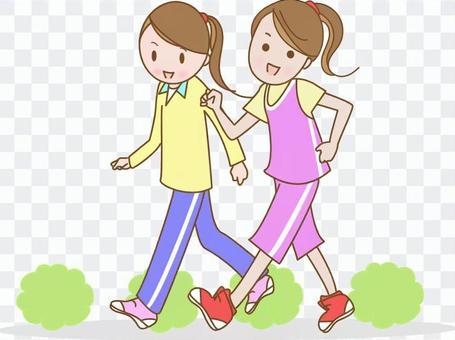 Walking Women