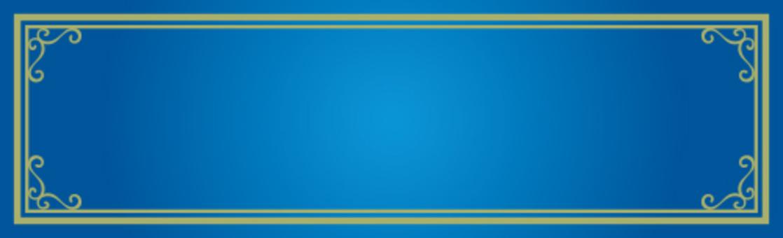 裝飾框架藍色