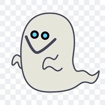 Illustration of cute ghost