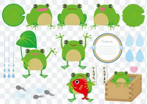 青蛙設置為打印