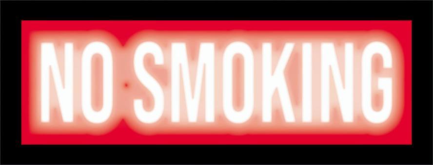 NO SMOKING 禁煙 サインランプ