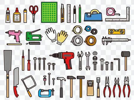 DIY木工工具套裝