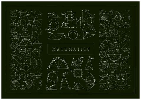 數學圖集黑板