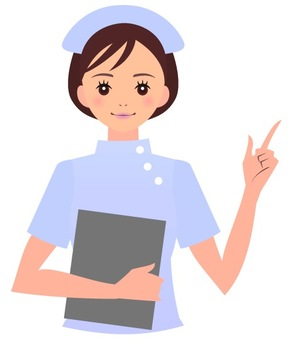 護士(上半身)
