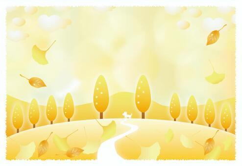 秋天的彩色回憶