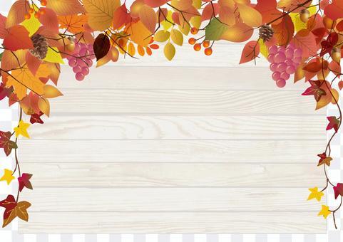 秋天可能使用的背景材料20