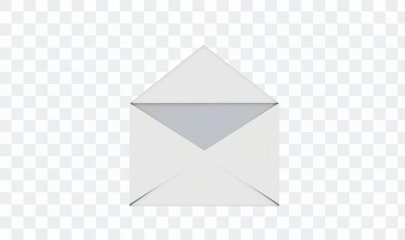 打開郵件字母圖標打開