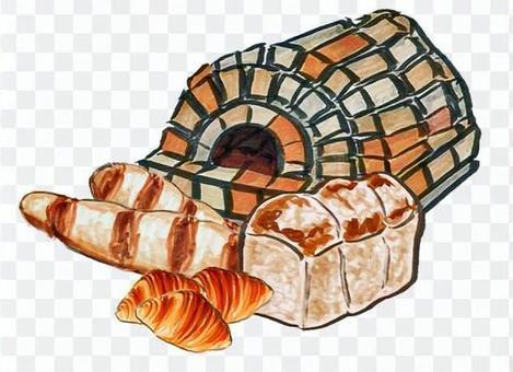 石烤箱麵包