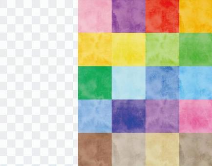 水彩圖案色板10 20色