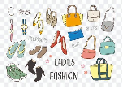 時尚包包鞋女士時尚