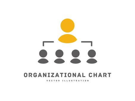 業務圖標公司組織結構圖