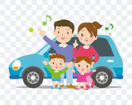 汽车和家庭