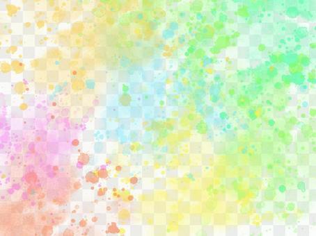 多彩的水彩背景漆半透明