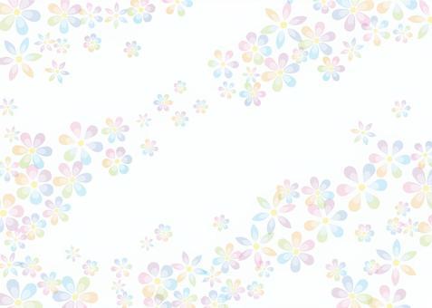 花、背景、A4横、塗足付