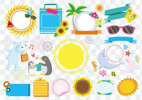 夏天銷售框架