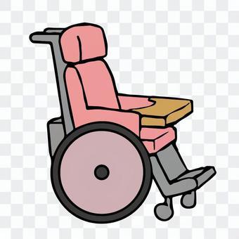 插圖輪椅一個人沒有人福利用品