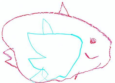 【兒童塗鴉風】太陽魚