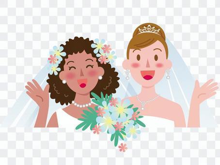 女性同士の結婚-4