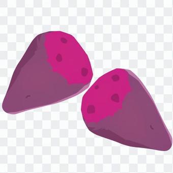 簡單的紫薯