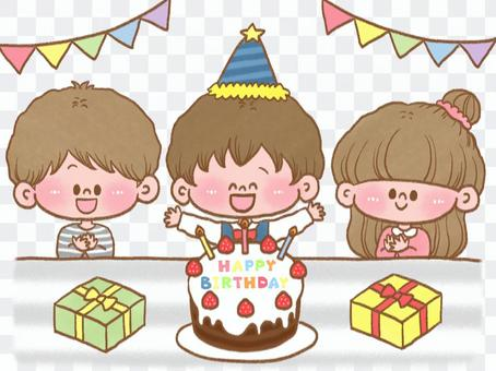 生日聚會圖