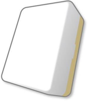 麻雀牌 白