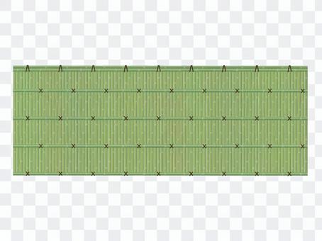 Bamboo fence pattern brush