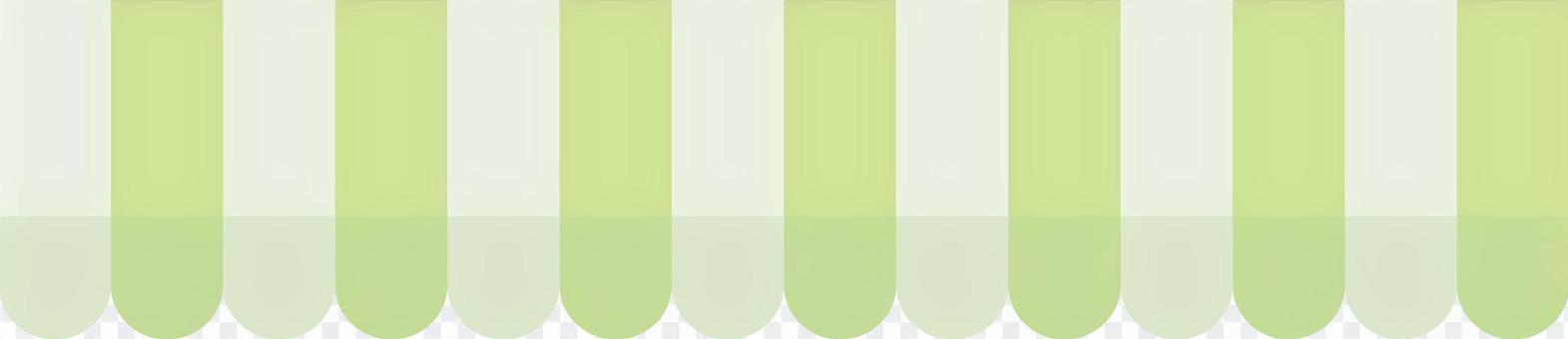 점포 천막 (파스텔 그린 × 화이트)