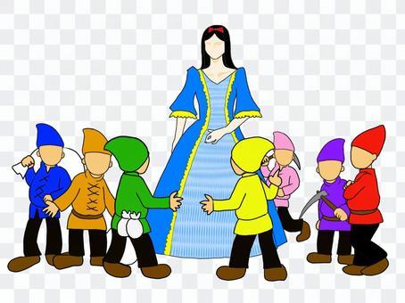 《白雪公主與七個小矮人》